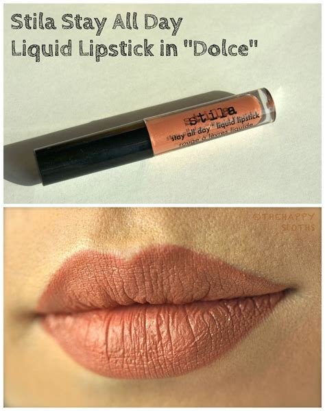 Stila Liquid Lipstick Dolce Coklat stila stay all day liquid lipstick in quot dolce quot review and