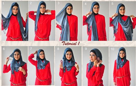 step by step pictorial tutorials of different style puff 30 hijab styles step by step style arena