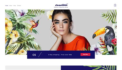 exles of hair websites fashion beauty website templates wix