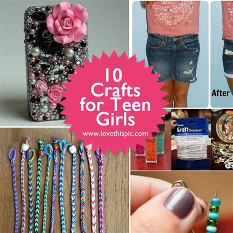 crafts for teenagers ten crafts for