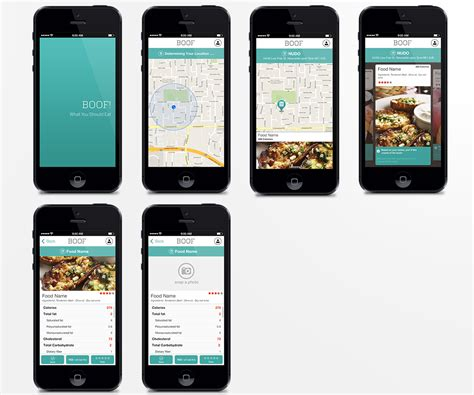 design menu application modern spielerisch restaurant app design for a company