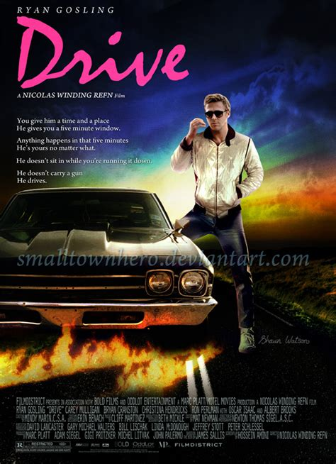 drive poster drive poster by smalltownhero on deviantart