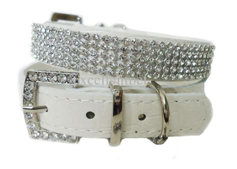 jeweled collars fancy rhinestone collar for dogscanine care products