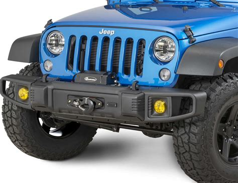 Jeep Jk Bumper Tactik 174 Front Rear Bumper With Led Fog Ls For 07 17