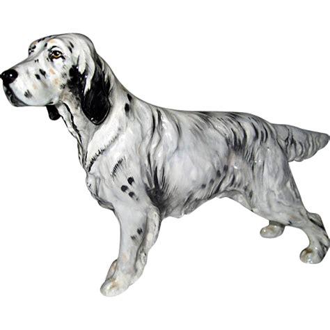 english setter dog statues royal doulton hn 1050 english setter dog figurine from