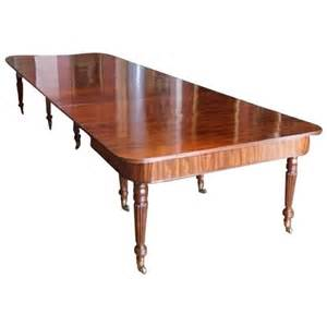 Dining Room Tables Quality Quality Regency Mahogany Dining Table Circa 1820