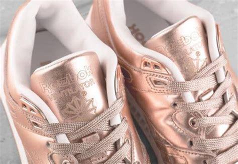 fruition  reebok ventilator rose gold sneakernewscom