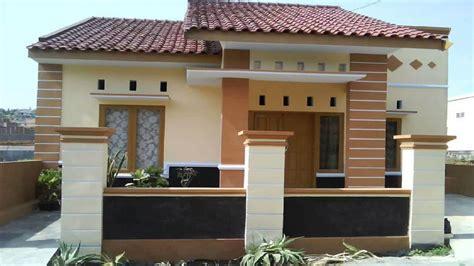 ide rumah minimalis tampak depan  pilihan warna catnya