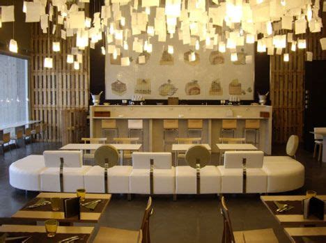 deco interior design materials recycled restaurant made from scrap by nancy