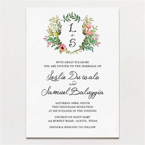 Wedding Invitations Tagged Quot Hand Drawn Quot Printable Press Printable Wedding Invitations