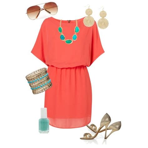25 best ideas about coral dress accessories on