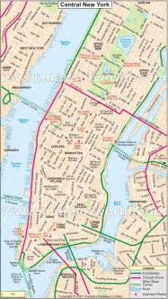 Map Of Central New York by New York Stadtplan Pictures To Pin On Pinterest