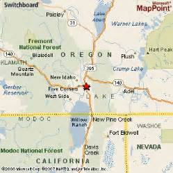 map of lakeview oregon lakeview oregon