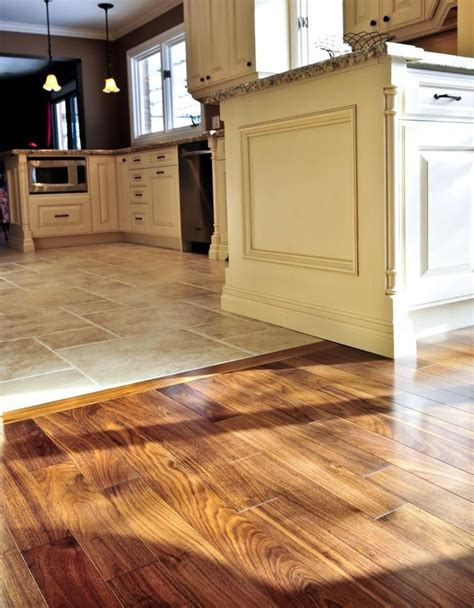 types of kitchen flooring ideas 17 best ideas about transition flooring on pinterest