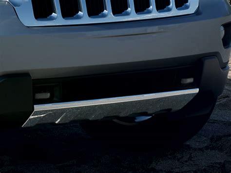 jeep grand cherokee chrome bumper trim item ab  aa abaa