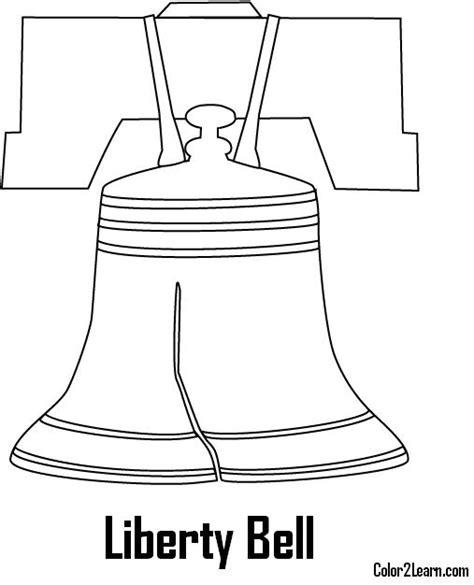 Free Coloring Pages Of Liberty Bell Dot To Dot Liberty Bell Coloring Page