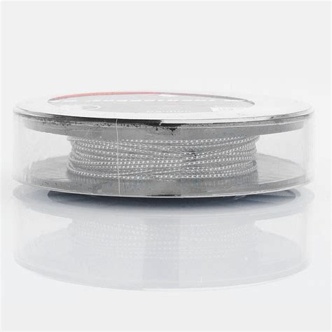 Authentic Ss316l 24ga Awg By Ud Stainless Steel 24 authentic geekvape ss316l juggernaut 3m heating resistance wire