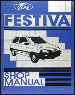 car owners manuals free downloads 1988 ford festiva instrument cluster ford festiva workshop manual download