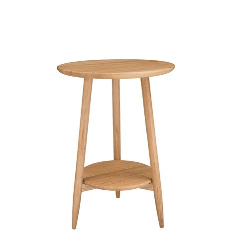 side table for dining room ercol teramo round side table pale oak tables dining room