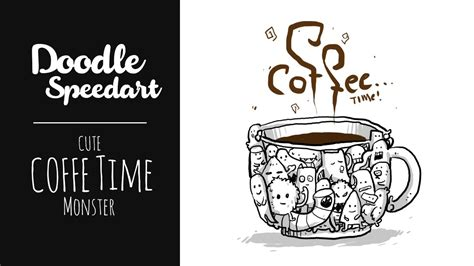 how to do doodle for doodle 3 coffe time time coffee
