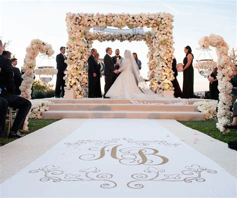 Wedding Aisle Runner Tradition by Wedding Ceremony Ideas Flower Covered Wedding Arch