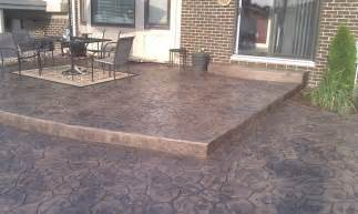 Cement Patio Designs Sted Concrete Patio Design Sterling Hts Mi Concrete Patio Michigan