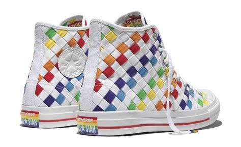 Converse Rainbow converse pride lgbta rainbow sneakers sole collector
