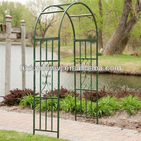 Galvanised Garden Arch Uk Galvanized And Pvc Coated Metal Garden Arch Trellis On