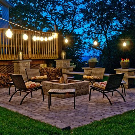 Backyard Patio Lights with Vintage Outdoor Lighting Traditional Patio By Bulbrite
