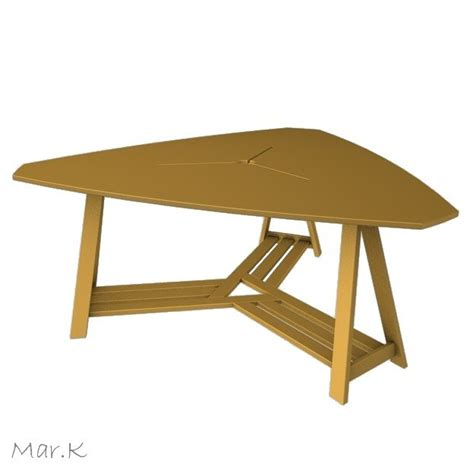Triangle Meeting Table 3ds Max Meeting Table