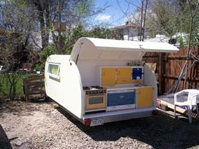 Camper Trailer Kitchen Ideas Build A Teardrop Camper Trailer From The Ground Up