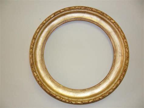 cornice rotonda cornice tonda dorata