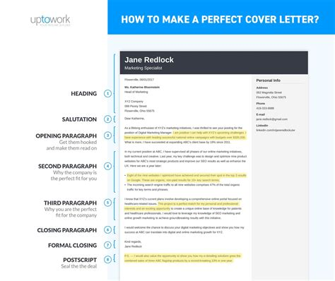 how to create an effective cover letter how to write a cover letter in 8 simple steps 12 exles