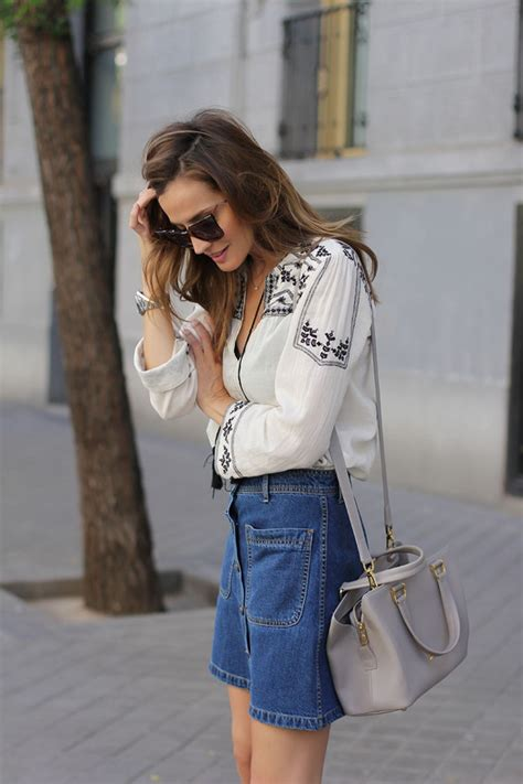 Boho Blouse Denim the boho file what is bohemian style and how do you style it just the design