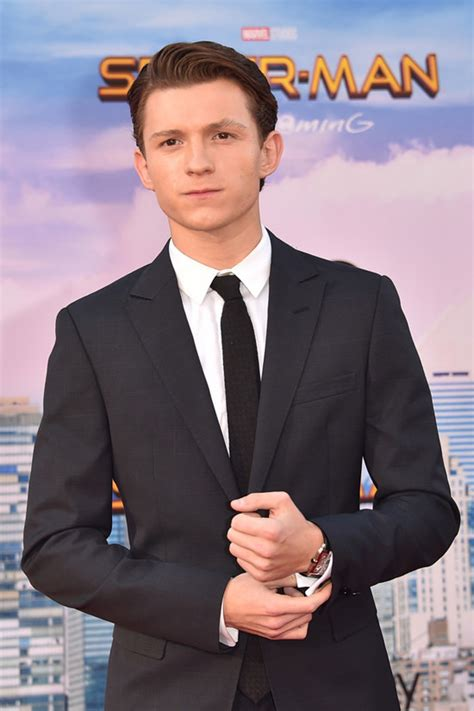 Spider Man Bed Tom Holland Takes Things Seriously In Armani At The
