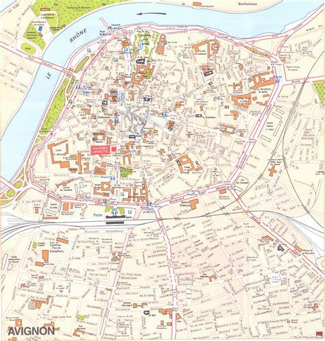 map of avignon avignon map avignon fr mappery