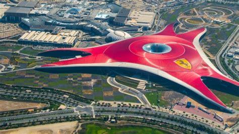 Ferrari Abu Dhabi Achterbahn by Ferrari World Freizeitpark In Abu Dhabi Mit Vielen