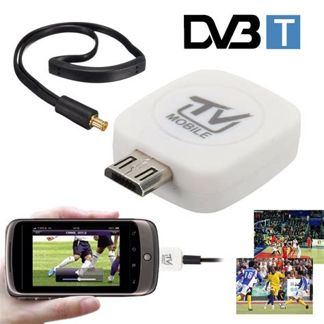 Tv Tuner Android Phone mini digital dvb t micro usb mobile hd tv tuner stick
