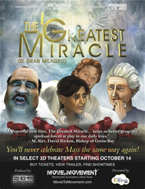 The Greatest Miracle The Greatest Miracle Premiered In Theaters On Friday Theatre Entertainment News