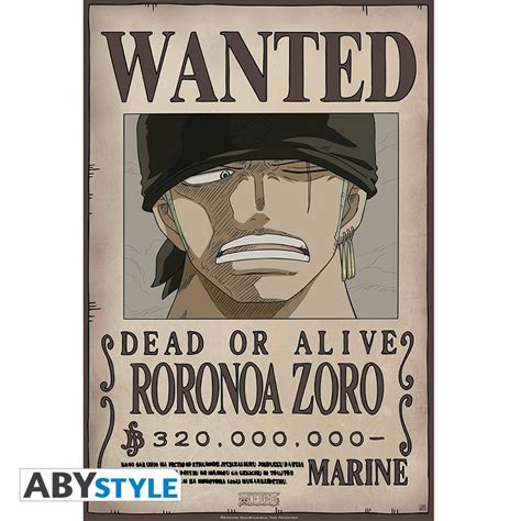 Poster Wanted One one portfolio 9 affiches one wanted abystyle