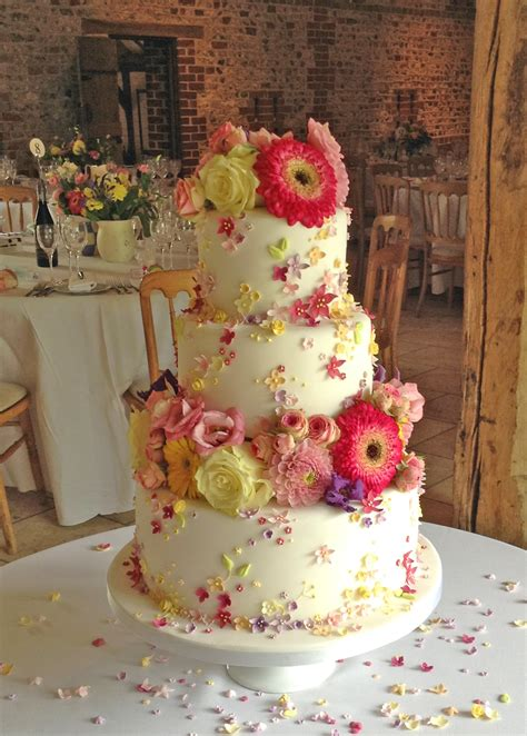 Colorful Wedding Cakes by Colourful Wedding Cake
