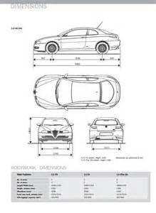 Alfa Romeo Brera Dimensions Alfa Gt Alfa Brera 187 Yaroslav Bozhdynsky S Personal Website