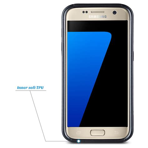 Casing Hp Samsung Galaxy S7 S7 Edge Cover Comando 4 shockproof hybrid rubber protective cover for samsung galaxy s7 s7 edge ebay