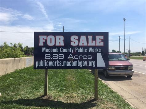 Macomb County Property Records Macomb County Puts Three Larger Plots Of Land Up For Sale