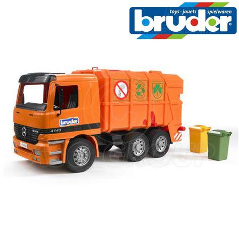 bruder toys mercedes bruder toys 01667 mercedes benz mb actros 4143 garbage