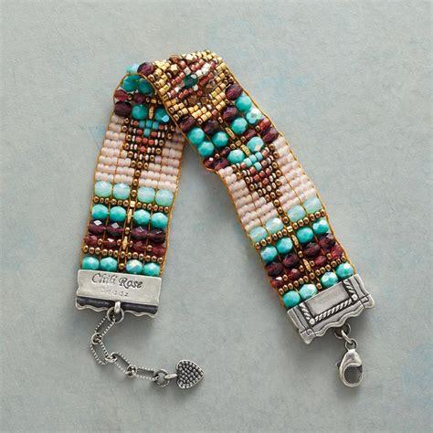 bead catalog tapestry bead bracelet robert redford s sundance catalog
