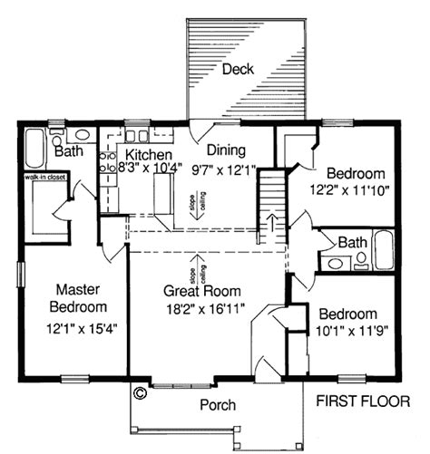 one level living floor plans house plan 97711 at familyhomeplans com
