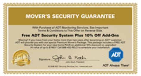 your alarm now reveals the release of adt security move