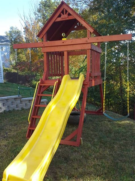 space saving swing sets swings swing sets and spaces on pinterest