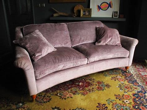 laura ashley velvet sofa laura ashley velvet reigate sofa plush curved elegant